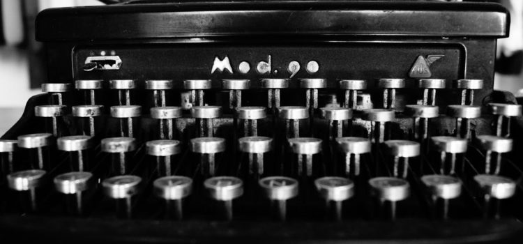 Vintage typewrwiter