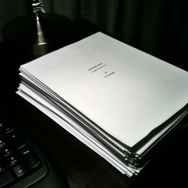 Finished Manuscript for Graveyard Bay; and Hurricane Florence